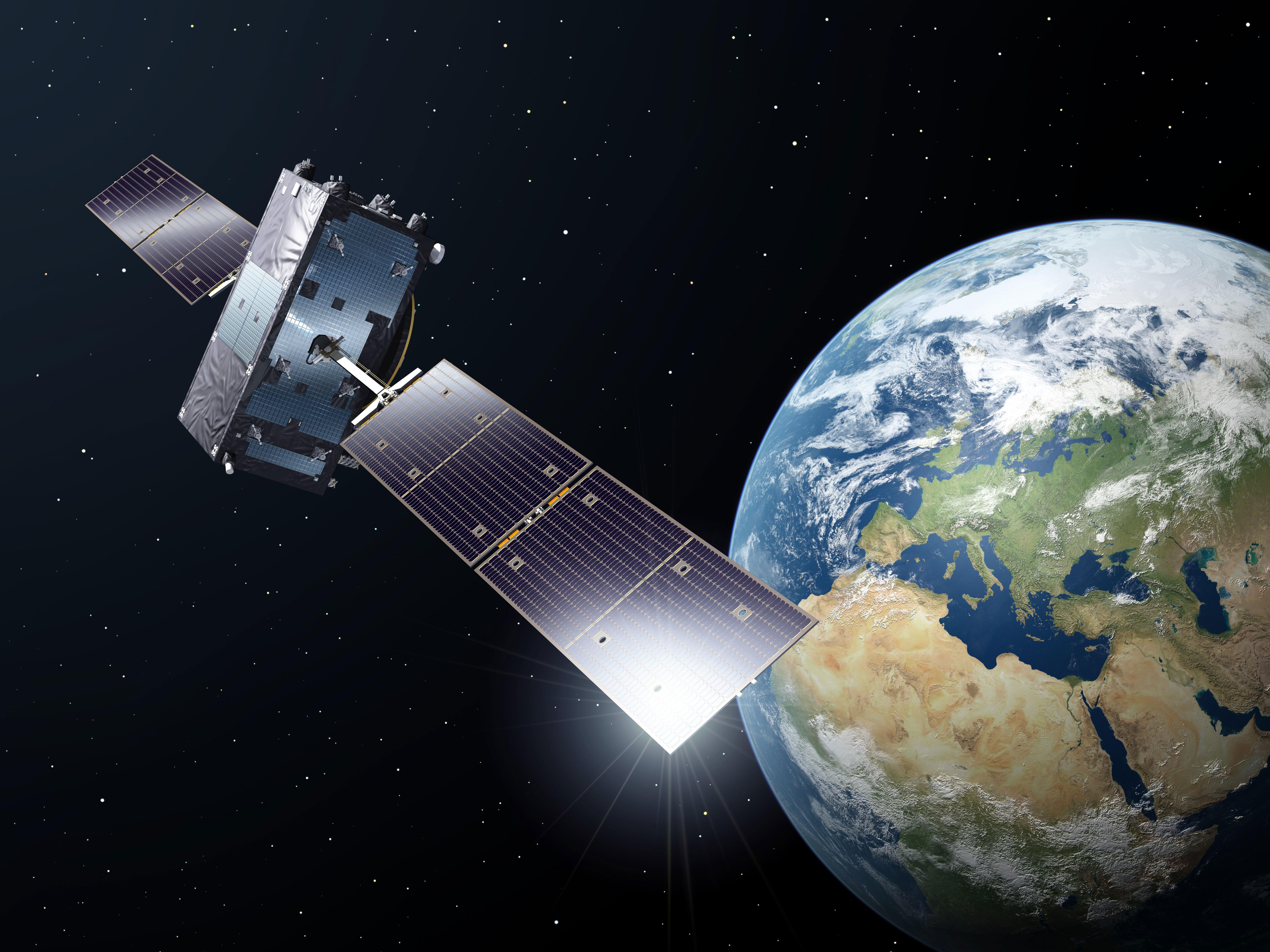 Satelliten Umlaufbahn Aktuell